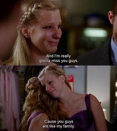 Glee - Brittany saying goodbye