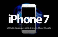 Descarga el Wallpaper del iPhone 7 y iPhone 7 Plus http://blgs.co/12BbJj