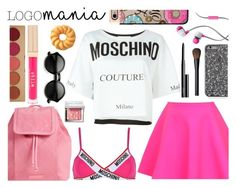 """""""pink summer outfit #2"""" by nicholas-the-third ❤ liked on Polyvore featuring Merkury Innovations, Vera Bradley, Moschino, UNIF, Bobbi Brown Cosmetics, Stila, NARS Cosmetics and Casetify"""