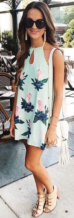 Little Floral Dress                                                                             Source