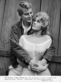 connie stevens troy donahue | Troy Donahue And Connie Stevens In 'Palm Springs Weekend'
