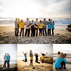 San Diego Beach Family Portraits