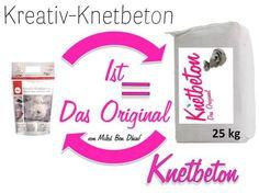 Knetbeton Das Original SHOP