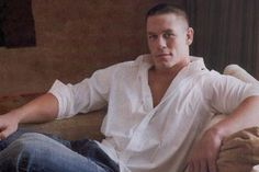 John Cena! He can come sit on my couch any day :) He's my pretend husband