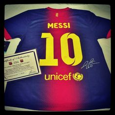 GIVEAWAY! Win a SIGNED Lionel Messi jersey! Enter at www.usyouthsoccer.org/wilson_trophy_company! Us Youth Soccer, Lionel Messi, Giveaway, Sports, Hs Sports, Sport