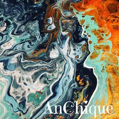 Paint Pouring by AnChique