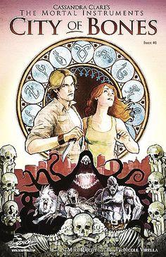 City of Bones graphic novel.
