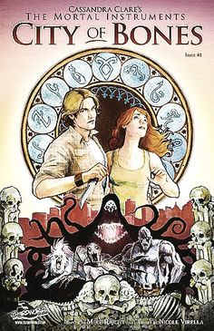 City of Bones graphic novel.