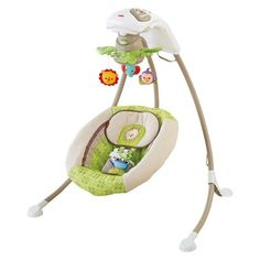 Fisher-Price Deluxe Cradle 'n Swing - Rainforest Friends