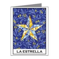 Cafe Press - la estrella note cards