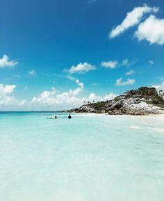 Tulum blues - Tulum Beach- Tulum, Mexico // by Jessica Stein - Tuula