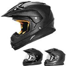 2014 Cyber UX-32 Solid MX Dirt Bike Off-Road ATV Quad Motocross Helmets