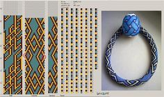 Galería de punto flagelos shnurikov y los patrones les   biser.info - todo sobre cuentas y cuentas de trabajo