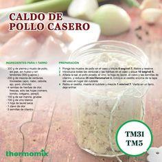 ¿Te gustaría saber cómo hacerlo? Ahorra dinero y hazlo tú mismo con #Thermomix #CaldoDePollo Cantaloupe, Soap, Personal Care, Fruit, Bottle, Vegetables, Chicken Drumsticks, Herbs, Food