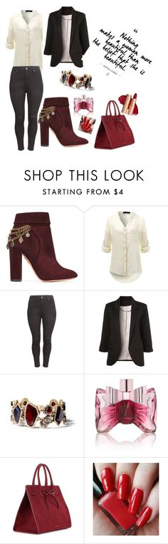 """Untitled #30"" by adela891 ❤ liked on Polyvore featuring Aquazzura, H&M, Chloe + Isabel, Viktor & Rolf and Mansur Gavriel"