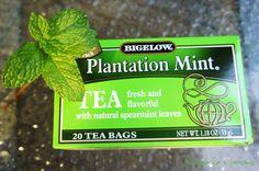 A fave tea hot or cold...Bigelow Plantation Mint