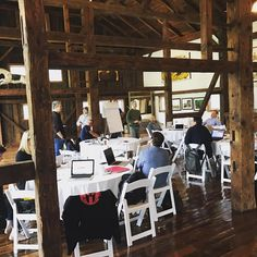 We love weddings! But we host other events too.  From the Wrenegade Sports Farm to Fork fondo to the Clif Enduro East Coast Finals to the Spartan Agoge.  This week we were host to an offsite meeting for the Spartan Race team. Hikes in the morning food from the Original General Store and Vermont Farms Catering  and productive sessions in the Brown Barn. - http://ift.tt/1i1Kl0R