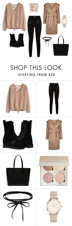 #1 by viktoriavarga-1 on Polyvore featuring Chicwish, MaxMara, Paige Denim, Frye, Lacoste and ROSEFIELD