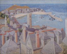Wilhelmina Barns-Graham View of St Ives