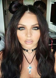 Jesy Nelson with cute hairstyle