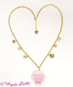Jewelシェルネックレス  4,104 yen / $39  4 colors available