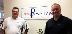 Tage and Felix at infoPresence LLC office in Port St Lucie