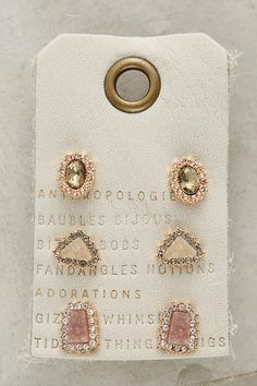 Shop the Pave Earring Set and more Anthropologie at Anthropologie today. Read customer reviews, discover product details and more.