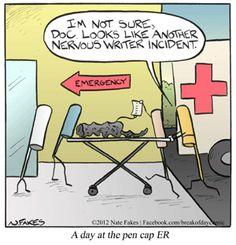 Comic | A day at the pen cap ER