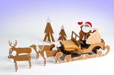 Santa's sleigh DIY Santa Sleigh, Outdoor Furniture, Outdoor Decor, Sun Lounger, Blog, Diy, Ideas, Home Decor, Chaise Longue
