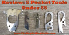 Sometimes it's not convenient to lug around a full-sized tool; and sometimes it's not convenient to pay for one either!  These #multitools are all easy to carry and even easier on your wallet #EDC #multitool #pockettool #prepper