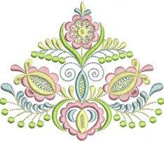 Ľudová výšivka Vajnory, 4 farby, ženy, rozmer 12x11 cm Folk Embroidery, Machine Embroidery Applique, Embroidery Designs, Embroidery Dress, Hungarian Tattoo, Textiles, Cross Stitch, Drawings, Painting