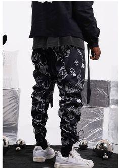 Aventon Killwinner Carpe Diem Graffiti Print Track Pants In Black Jogger Pants, Joggers, T Set, Graffiti Prints, Carpe Diem, Lesbian, Suits, How To Wear, Clothes