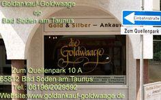 Goldnakauf-goldwaage at Bad Soden