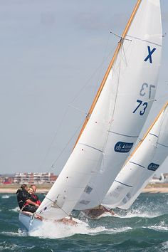 XOD 'Zephyr'  The XOD keelboat 'Affore the Week' racing during Cowes Week.  #sailboats #boats #sailing