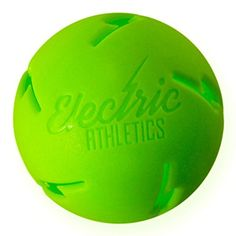 Discounted Electric Athletics Lightning Ball Heavy Duty Limited Flight Training Baseball #ElectricAthleticsLightningBallHeavyDutyLimitedFlightTrainingBaseball Wiffle Ball, Sports Training, Athletics, Lightning, Electric, Baseball, Green, Gift