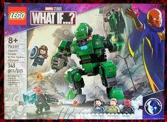 New LEGO sets make me happy. Avengers Movies, Steve Rogers, Lego Sets, Marvel, Heart, Disney, Happy, Lego Games, Ser Feliz