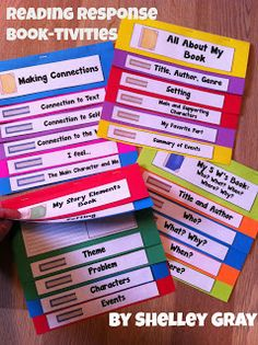 I remember making these flip books in grade school. They are very organized and it's an easier way for kids to understand the breakdown of a subject, book, lesson, etc. These booklets can be used for anything! A good way to stay organized! -Dani Khoury