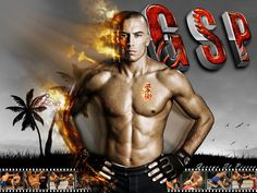 "Georges ""Rush"" St. Pierre #gsp #mma #ufc"