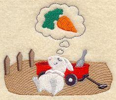 Jardinage lapin Rêves