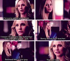 Rebekah and Caroline