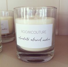 Handmade scented candle by Roomcouture