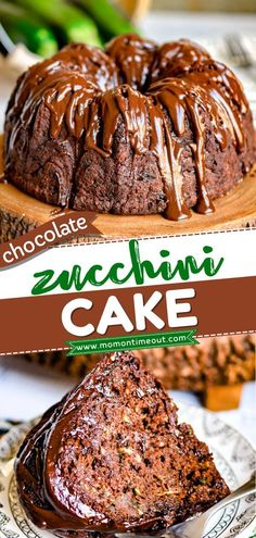Say hello to your new favorite chocolate dessert! Moist, rich, and decadent, this homemade chocolate cake is so good that no one would ever guess it has a hidden veggie. Save this easy zucchini… Easy Chocolate Desserts, Best Chocolate, Fun Desserts, Homemade Chocolate, Chocolate Cake, Best Dessert Recipes, Cupcake Recipes, Cupcake Cakes, Bundt Cakes