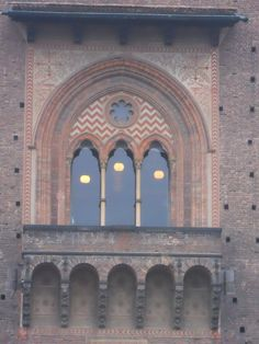 Medieval architectural details at Castle Sforza, Milan Italy - Photo by Vickie Arentz