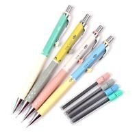 1Set 0.3mm Mechanical Pencil+Pencil Lead Office School Writing Drawing Supply  X