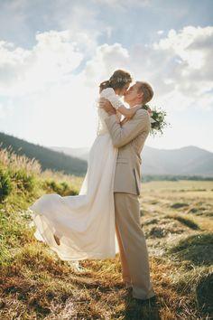bridal photo shoot park city, utah vintage custom made wedding gown jessica…