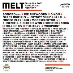 RA: Melt Festival 2017 at Ferropolis, Leipzig