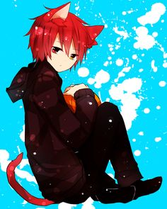 anime guy neko ears - Google Search <<< Looks like a neko Otoya from Uta no Prince-sama! Hontouni kawaiidesu!