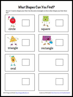 Geometry for Kids: Finding Shapes at the Playground - PLUS a free, downloadable Shape Scavenger Hunt
