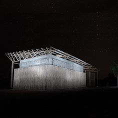 Students from the Bergen School of Architecture in Norway have built a school building in a Mozambique village using sand bags, bottles and grass.