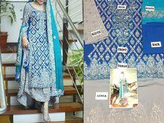 Excited to share this item from my shop: Ferozi Chiffon Wedding Lehenga Pure Pakistani Designer Wear Pakistani Maxi Dresses, Pakistani Bridal Lehenga, Wedding Dress Chiffon, Blue Wedding Dresses, Chiffon Dresses, Wedding Lehenga Online, Heavy Lehenga, Luxury Clothing Brands, Pakistani Designers